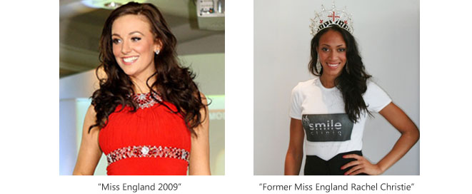 Former Miss England uses Smile Cliniq Dentist services