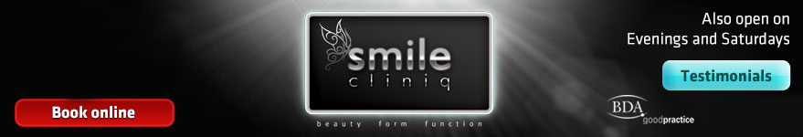 Smile Cliniq, call for a consultation today 020 8343 1133