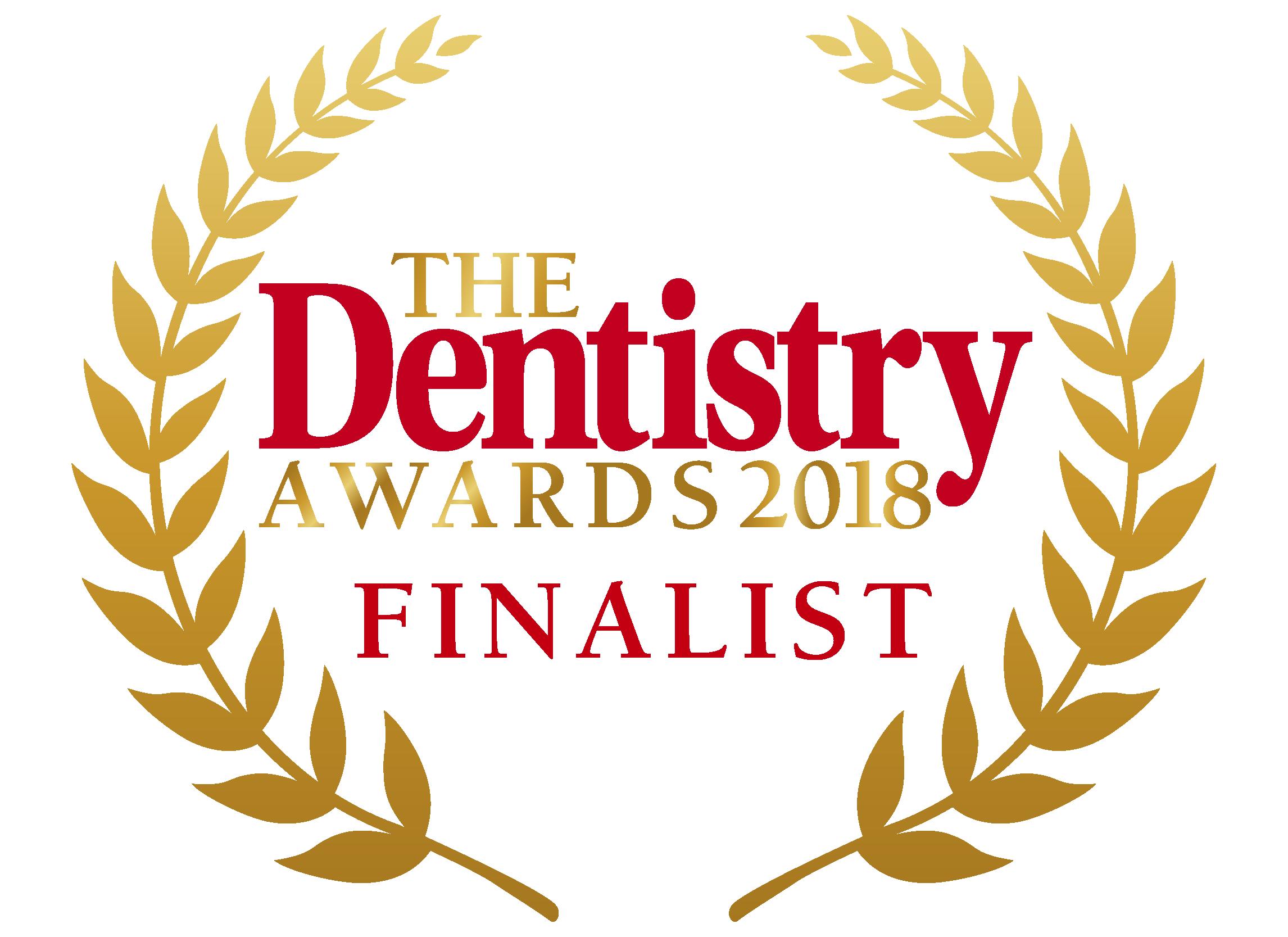 Dentistry awards 2018 finalist