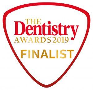 Dentistry awards 2019 finalist logo