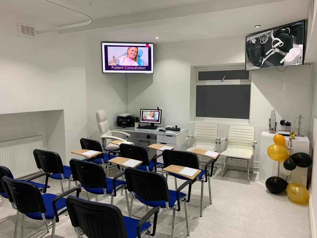 Smile Cliniq lecture room for hire